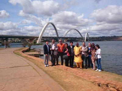 Visita à Ponte JK em Brasília