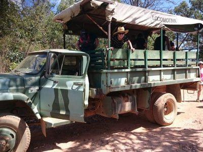 Eco Turismo em veículo adaptado
